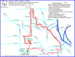Dayton Ohio Map by Courteous Mass Dayton