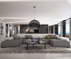 Wohnzimmer Lounge Bar Coburg Couch Resida Grau Weiss 400x250 Cm Xxl Sofa Lounge Wohnlandschaft