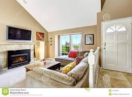 High Ceiling Living Room by High Ceiling Living Room Stock Photography Image 8896552