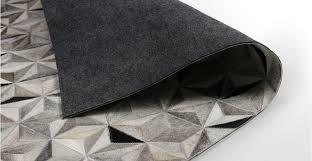 Grey Cowhide Rug Grey Cowhide Rug Large Geometric 160 X 230cm Aster Made Com