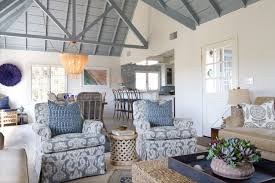 Beach Cottage In Oceanside Beach Style Family Room San Diego - Cottage style family room