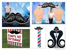 mustache moustache bash party planning ideas u0026 supplies baby