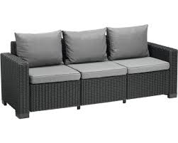 canapé lounge canapé lounge california graphite 3 places acheter sur hornbach ch
