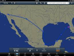 Aeromexico Route Map by Tj U0027s Flying Adventures 2012