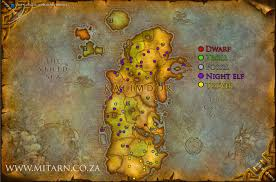 Wow Map Edwats Wow How To Get To Outland From Eastern Kingdom