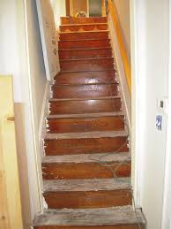 Stairs With Laminate Flooring Steep Bungalow Stairs U2013 How To Make Them Less So U2026 Adventures In