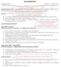 Proper Job Resume by 6 Good Example Of A Cv Basic Job Appication Letter