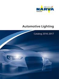 Narva 17131 T4w 12v 4w Ba9s 2 by Narva Catalog 2016 2017 En En Headlamp Lighting