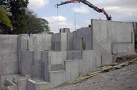 basement homes concrete basements poured with aluminum concrete forms or basement