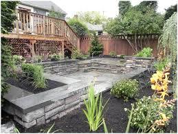 How To Landscape A Sloped Backyard - splendid backyards modern landscaping ideas for downward sloping