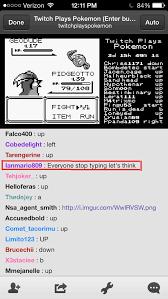 Twitch Plays Pokemon Twitch Plays Pokemon Know Your Meme - image 700058 twitch plays pokemon know your meme
