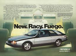 renault cars 1965 renault car ads 1983 renault fuego car ad from the people who