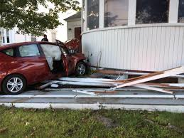 car crashes into westbrook church portland press herald