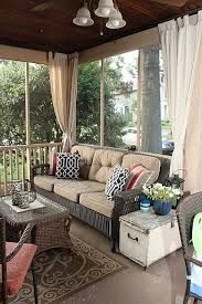 Curtains In Sunroom 271 Best Porches Images On Pinterest Homes Sunroom Windows And