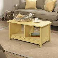 yellow coffee tables foter