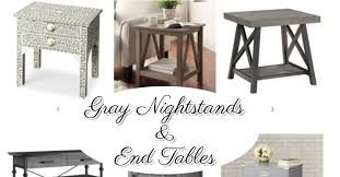 Accent End Table Gray Accent Tables And Gray End Tables We Love Involvery