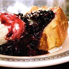 never fail pound cake with warm berry compote never enough thyme