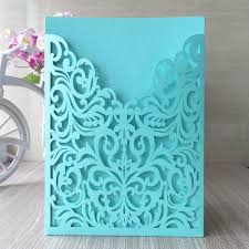 blue wedding invitations 20pcs lot free shipping newest laser cut cards arabic purple