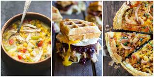 12 easy leftover turkey recipes made with your thanksgiving favorites