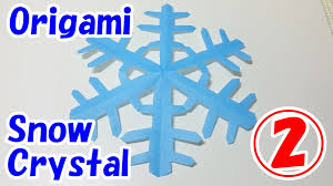 easy origami christmas decorations for beginners snow crystal