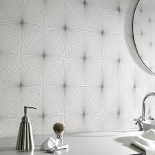 Wallpapers For Bathrooms Great Waterproof Wallpaper For Bathrooms For Your Small Home Decor