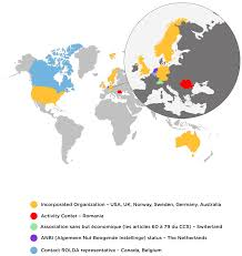 Norway World Map by Contact U2013 Rolda