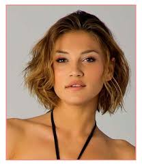 short hairstyles for fine wavy hair round face hairstyles