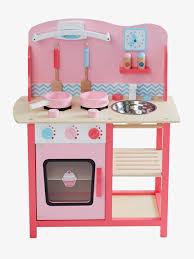 spielküche holz vertbaudet spielküche aus holz in rosa