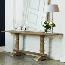 avignon refectory french country style solid timber console wall