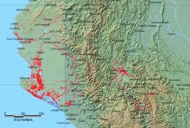 Peru On Map 2017 Flood Peru 4450