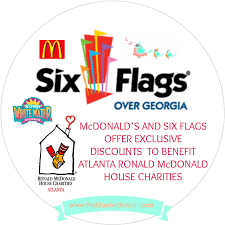 Coca Cola Six Flags Coupon Mcdonald U0027s And Six Flags Offer Exclusive Discounts To Benefit
