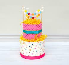 flower diaper cake diaper cake centerpiece pom pom cake