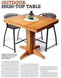 Wood Plans Outdoor Table by Folding Table Plans Outdoor Furniture Plans U0026 Projects