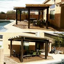 Pergola Gazebo With Adjustable Canopy by Solara Adjustable Cover Az Patio Cover Sun Control Llc