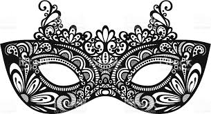 mascarade mask beautiful masquerade mask stock vector more images of