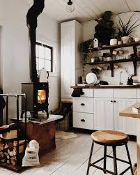 How To Open Up A Small Kitchen A Tiny Cabin In The Woods For Creative Homesteaders In Vermont