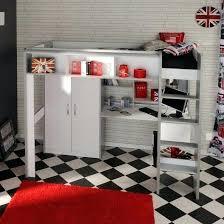 lit mezzanine avec bureau pour ado lit avec bureau pour fille lit mezzanine contemporain avec bureau