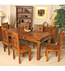 Dining Table And Six Chairs Wood Dining Table And 6 Chairs Home Interior Inspiration