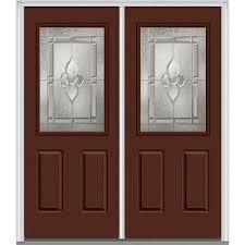 mmi door 72 in x 80 in master nouveau right hand 1 2 lite 2