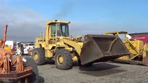 cat 950b wheel loader youtube