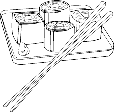 sushi coloring pages coloringpages321 bat coloring