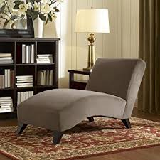 Contemporary Chaise Lounges Amazon Com Contemporary Taupe Chaise This Modern Chaise Lounge