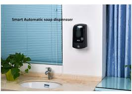commercial soap dispenser wall mounted 1l wall mounted automatic hand soap dispenser with button or key lock