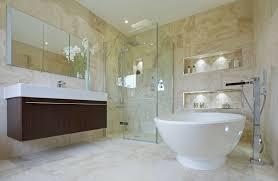 Standing Shower Bathroom Design Bathrooms With Corner Showers Designs