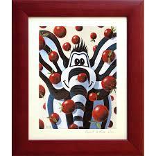 tableaux chambre bébé tableau éléphant titou pomme chambre bébé enfant déco murale
