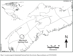 Utm Zone Map Mercury Concentrations In The Bedrock Of Southwestern Nova Scotia