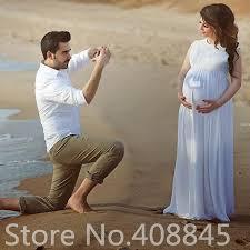 aliexpress com buy plus size maternity beach wedding dresses