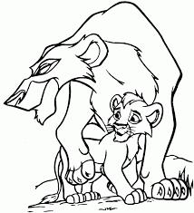disney printable lion king coloring pages kids simba mufasa