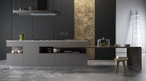 multi level kitchen island design minimalsit black mate contemporary multi level kitchen