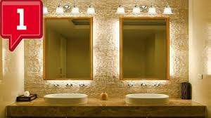 bathroom lighting ideas pictures cool bathroom light fixtures ideas youtube